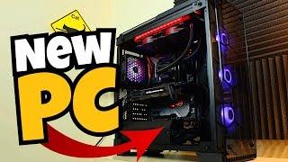 MY AMAZING NEW GAMING PC!