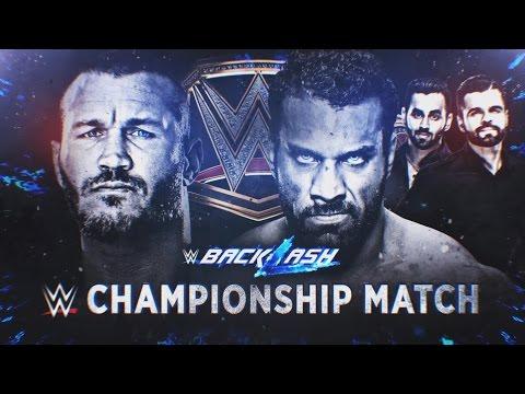 Randy Orton battles Jinder Mahal for the WWE Championship tonight at WWE Backlash