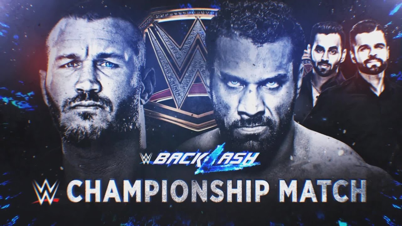 Randy Orton Battles Jinder Mahal For The WWE Championship Tonight At Backlash