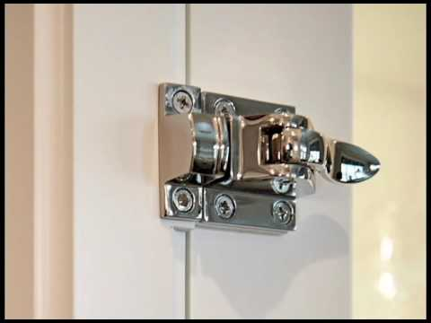 Learn about cabinet latches - YouTube