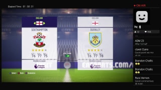 The Clarets Game Live- Southampton v Burnley. Premier League Full audio Commentary