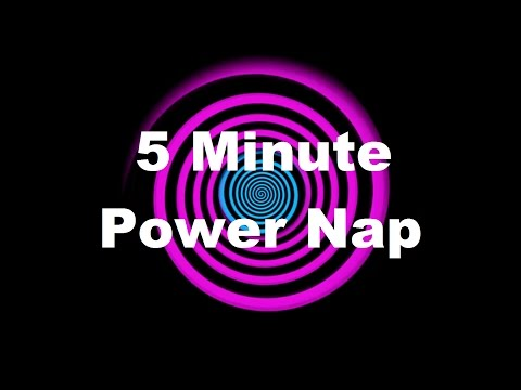 Hypnosis: 5 Minute Power Nap