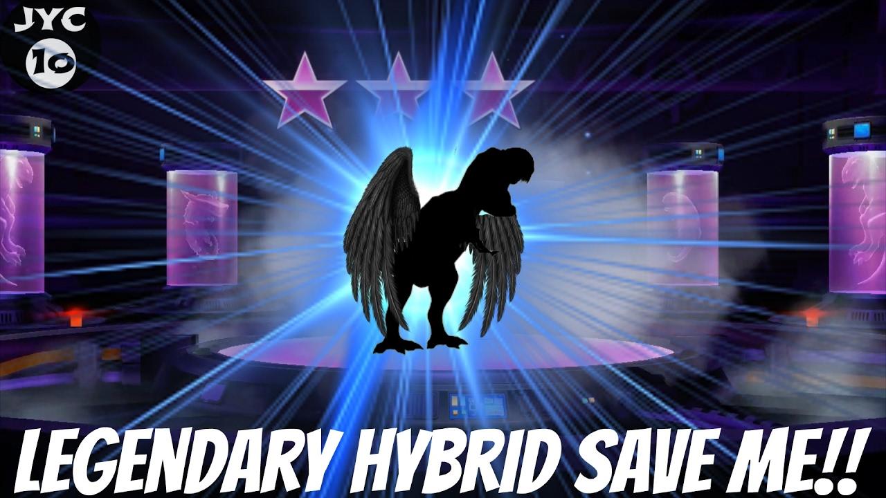 New Legendary Hybrid Evolution Save me!! | More TEETH! || Jurassic World -  The Game