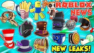 ROBLOX NEWS: A BUNCH Of New Item leaks, New Emotes, New Hair & RB Battles Results