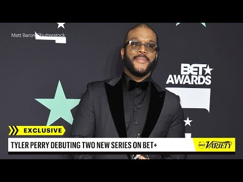 Tyler Perry to Create Two New Series for BET