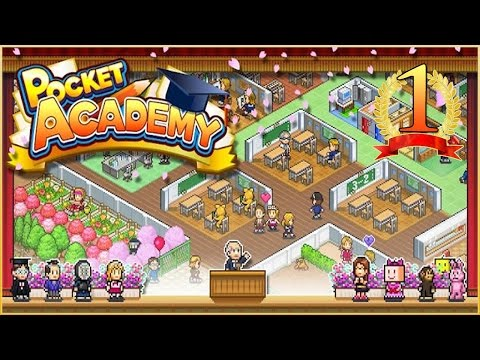 Grand Opening of Pixel High!! • Pocket Academy - Episode #1