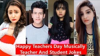 Happy Teachers Day Musically | Teacher and Student Jokes | Manjul, Awez, Aashika, Heer, Disha Madan