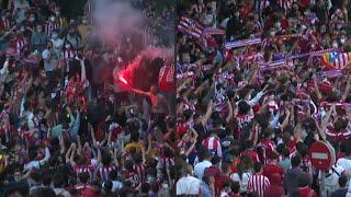 Football: Atletico Madrid Fans Gather To Celebrate La Liga Title   AFP