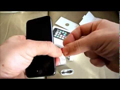 Iphone 5s How To Insert Remove Nano Size Phone Sim Card