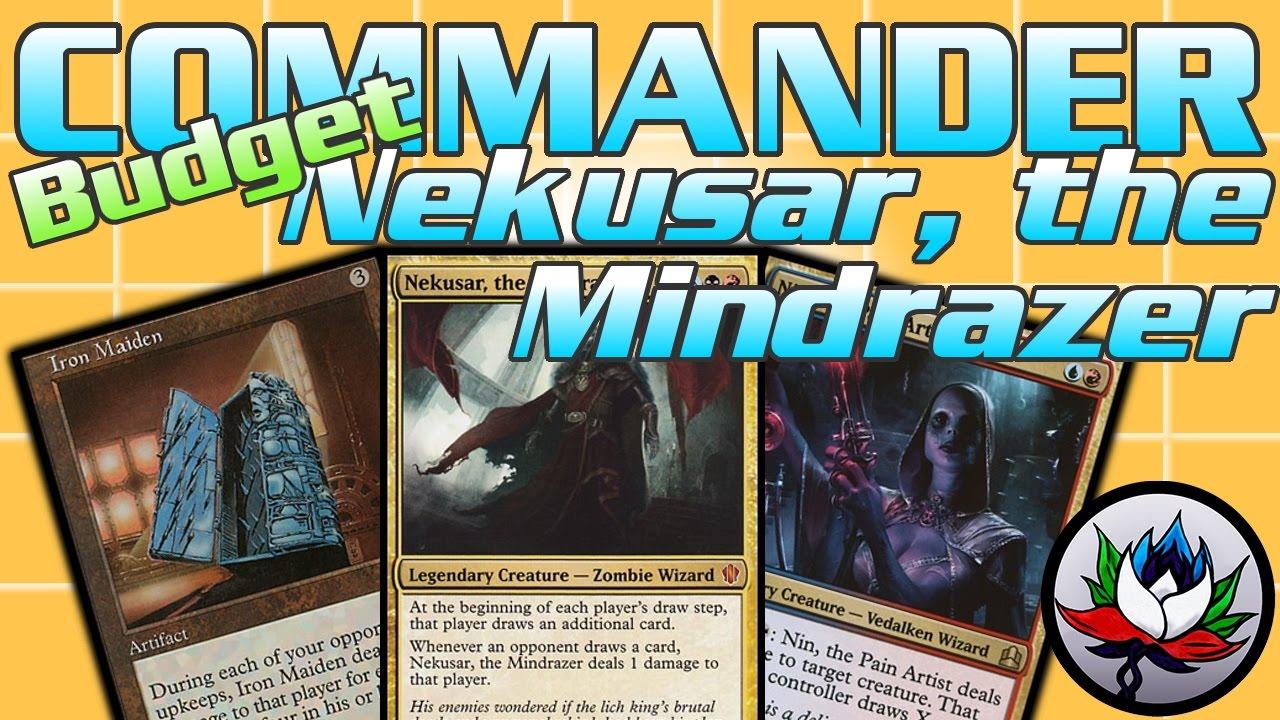 Nekusar, the Mindrazer Budget Commander Deck Tech by The