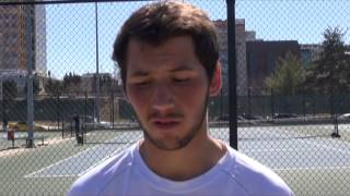 Interview with UMKC Men'sTennis Team member Mike Psarros