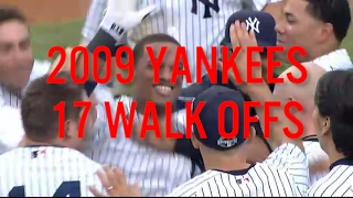 2009 Yankees - 17 WALK-OFF VICTORIES