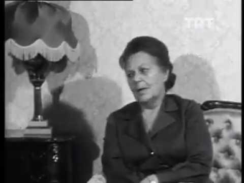Atatürk'ün Manevi Kızı Sabiha Gökçen Atatürk'ü Anlatıyor 1973 TRT