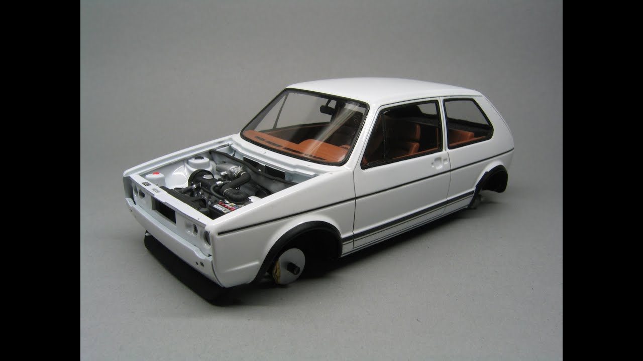 revell vw golf 1 gti final assembly youtube. Black Bedroom Furniture Sets. Home Design Ideas