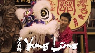 young lions five time world lion dance champion in action not for the faint hearted