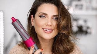 TRYING THE DYSON AIRWRAP COMPLETE | ALI ANDREEA