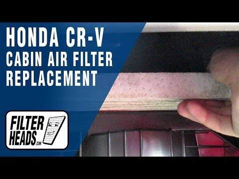 How to Replace Cabin Air Filter 2014 Honda CR-V
