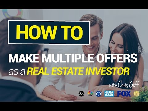 How to Make Multiple Offers as a Real Estate Investor
