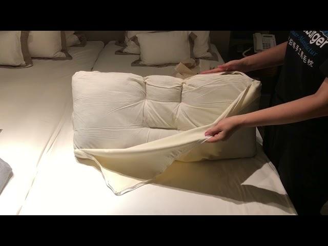 可以洗的繆思伯格馬毛枕