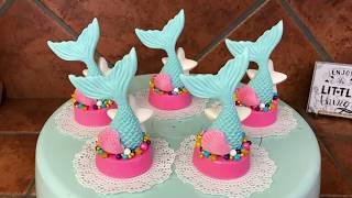 Mermaid Tail Oreo Cookies(How To)