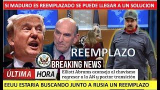 EEUU y Rusia se la ingenian para reemplazar a Maduro
