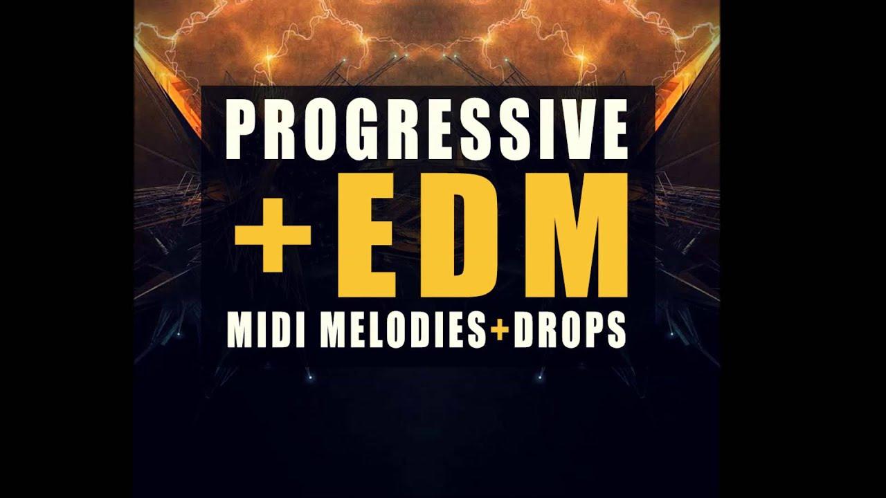Progressive & EDM Midi - Sample Pack | EDM Midi Drops | EDM Midi ...