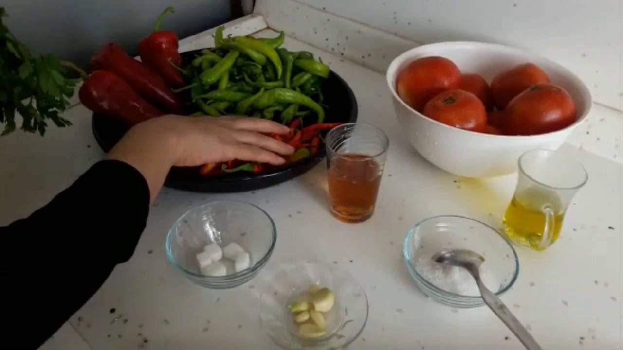 Kahvaltılık Domates Biber Sosu Videosu