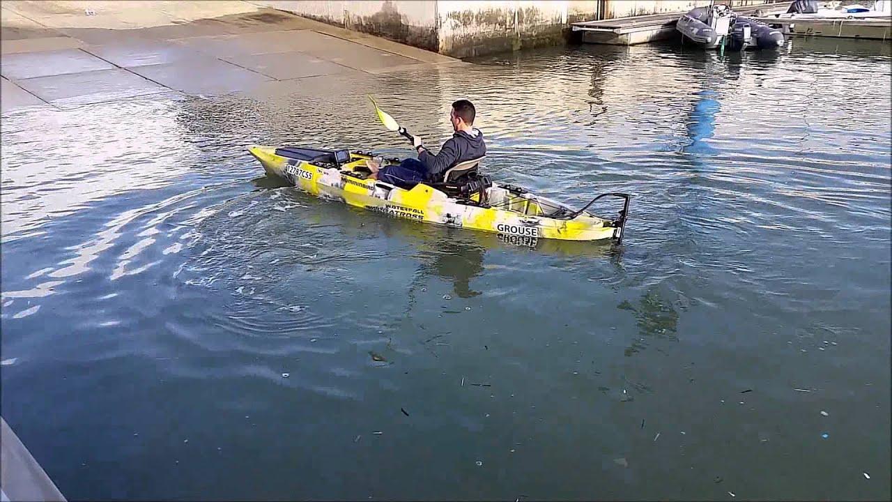 Ultimate kayak fishing albatross youtube for Youtube kayak fishing