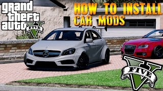 GTA 5: HOW TO INSTALL REAL CAR MODS!  - (GTA 5 PC Mod Tutorial)