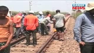 Crack In Train Line, Narrow Escape For Bangirip...