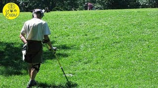 Using A Metal Detector In The Woods Leaves More Questions Than Answers