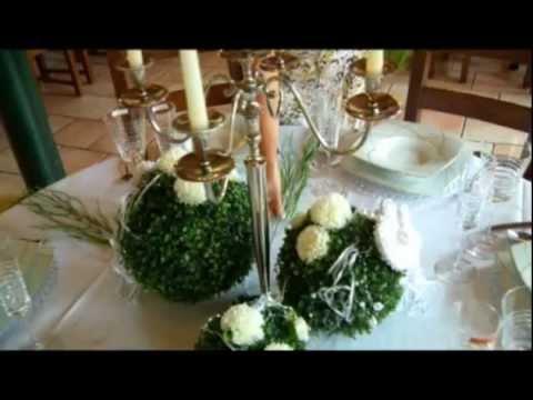 Der gedeckte Tisch 09  Hochzeitstisch Keramikscheune