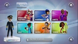 Kinect Sports Season 2 Xbox 360 Part 1