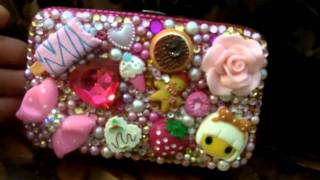 Cute Business Card Case-Credit Card Case Crystallized With Swarovski Elements Thumbnail