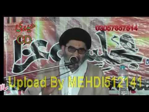 Maulana Syed Ali Raza Naqvi (19 March 2017-Jalsa Jamia-tul-Hasnain Taror-Jhang)