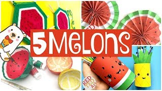 5 Watermelon DIY ProĴects - 5 AWESOME Melon Crafts to Make this Summer