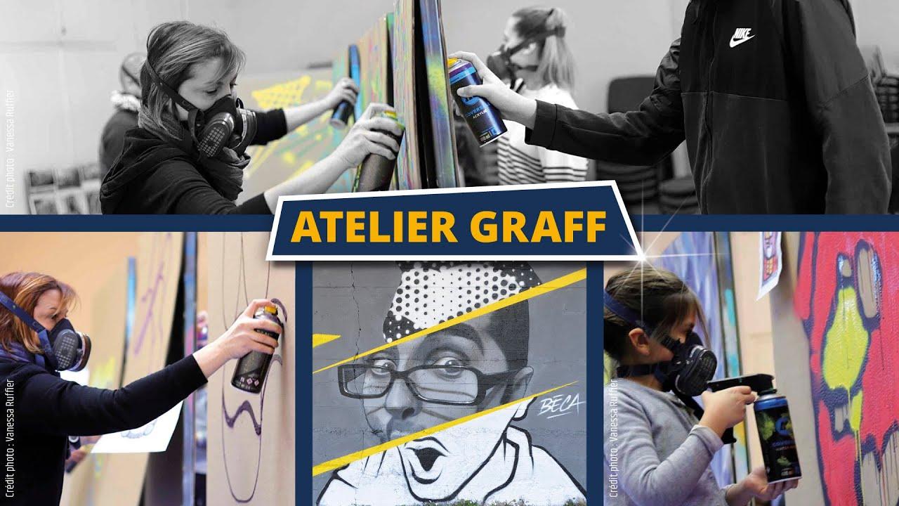 Atelier graff Calligraff - Janvier 2021