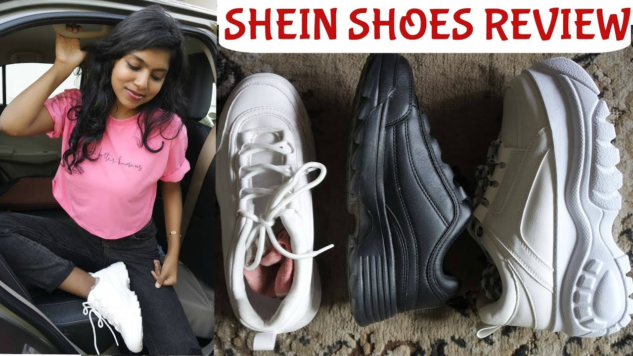 Shein Chunky Shoes Review   Chunky