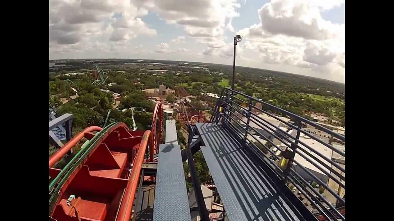 Sheikra at Busch Gardens - YouTube