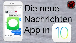 iOS 10 iMessage Features - Nachrichten App Tutorial [Deutsch/German]
