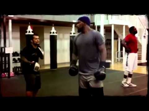 Sam Barrington training with Crboxing and Fitness  (Created