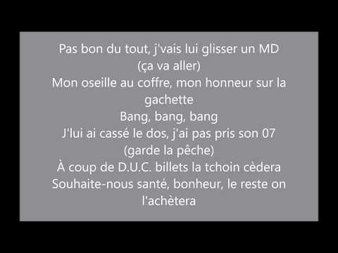 Booba ça Va Aller Ft Niska&Sidiki Diabaté (paroles/lyrics)