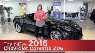 New 2016 Chevrolet Corvette Z06 w/Z07 Sport- Minneapolis, St Cloud, Monticello, Buffalo, Rogers, MN