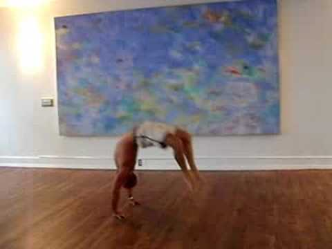 jerome mercier  viparita chakrasana  youtube