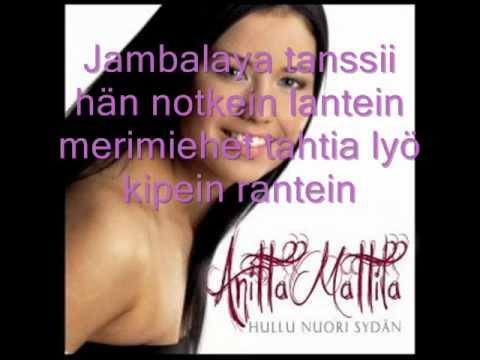 Anitta Mattila - Jambalaya (Lyrics)