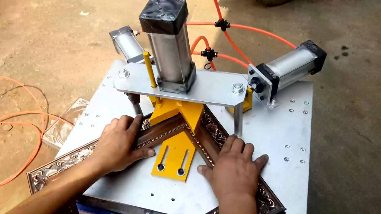 frame cutting machine - YouTube