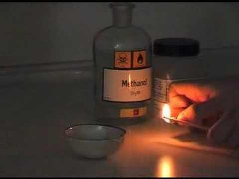 Phản ứng cháy của rượu