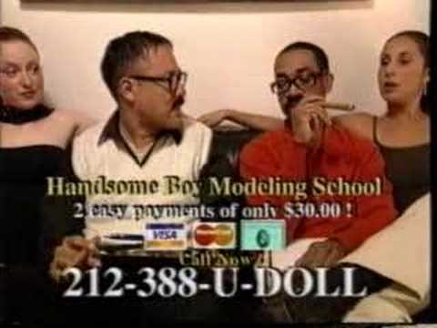 Handsome Boy Modeling School promo video