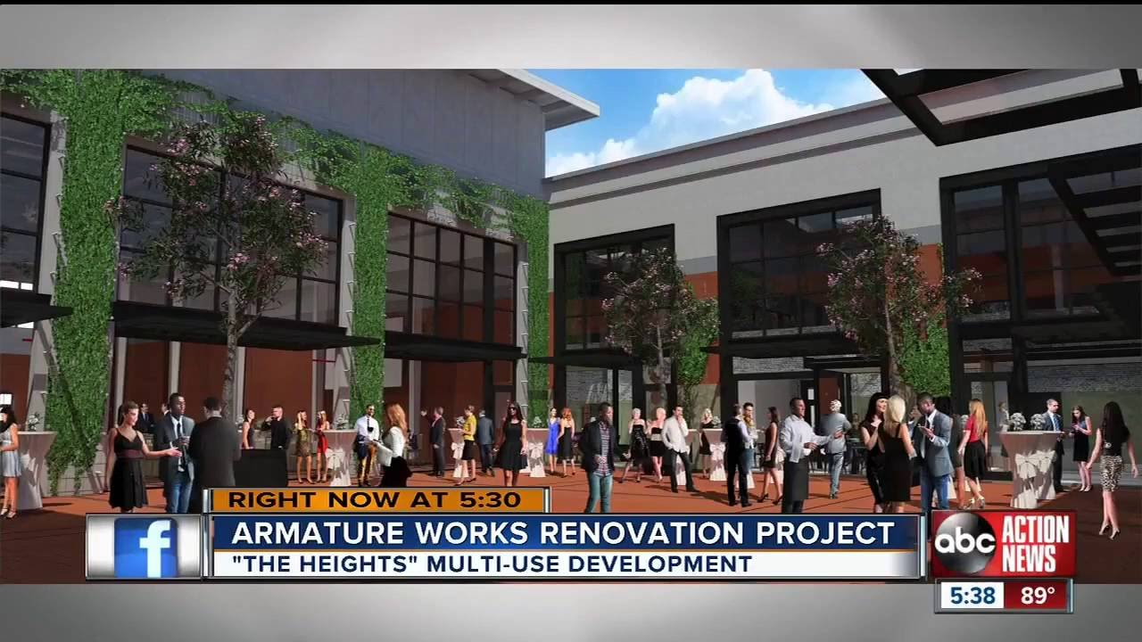 abc action news: soho capital reveals armature works renovation