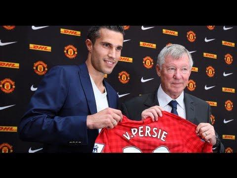 Robin Van Persie unveiled by Man United